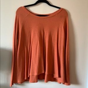 Coral long sleeve